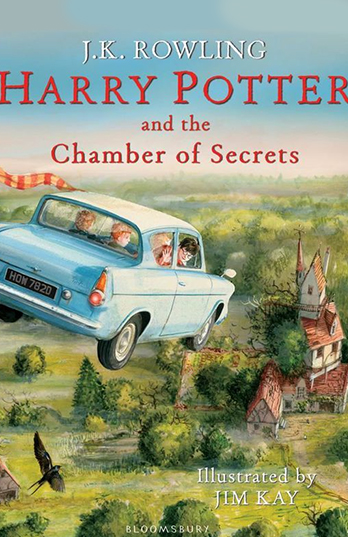 Harry Potter and the Chamber of Secrets - Jim Kay