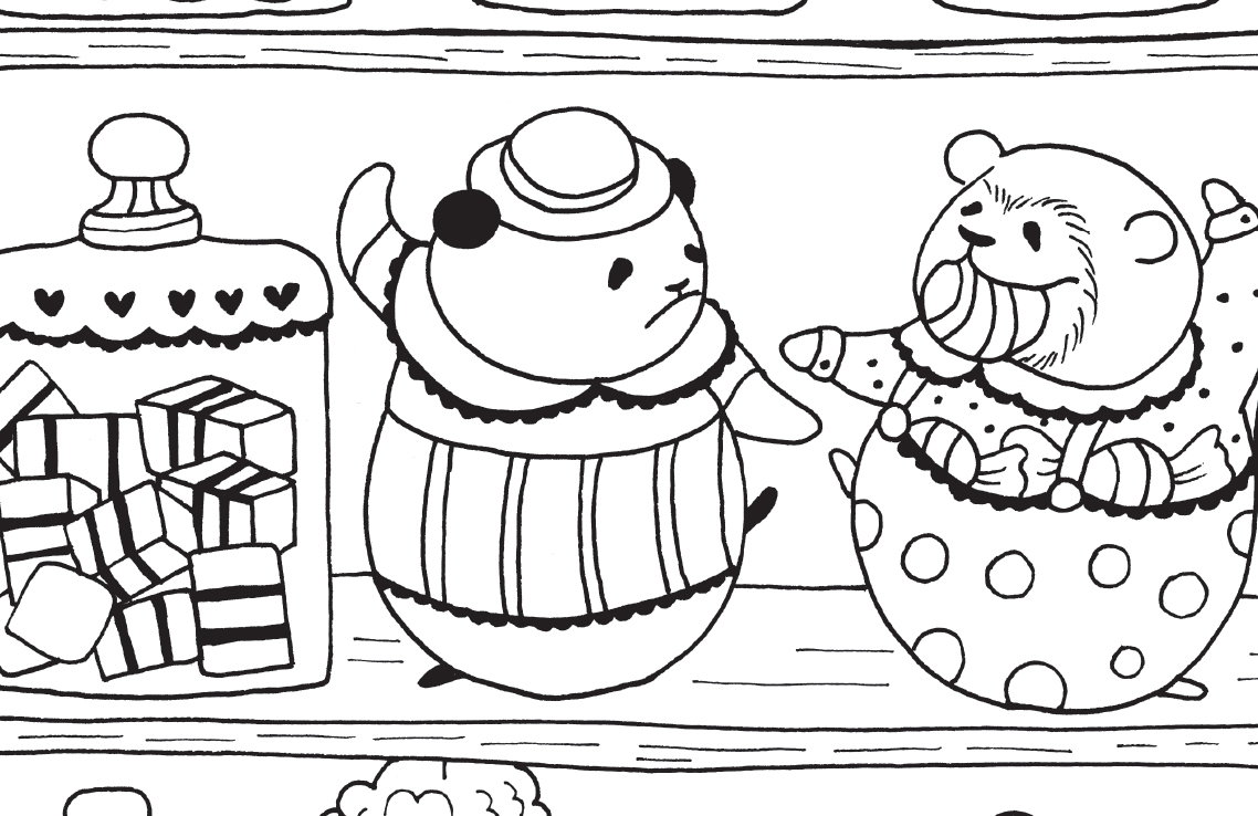 a million bears beautiful bears to colour free pattern download