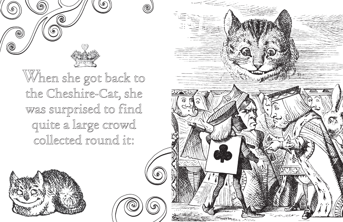 Alice\'s Adventures in Wonderland Free Colouring Downloads - WHSmith Blog
