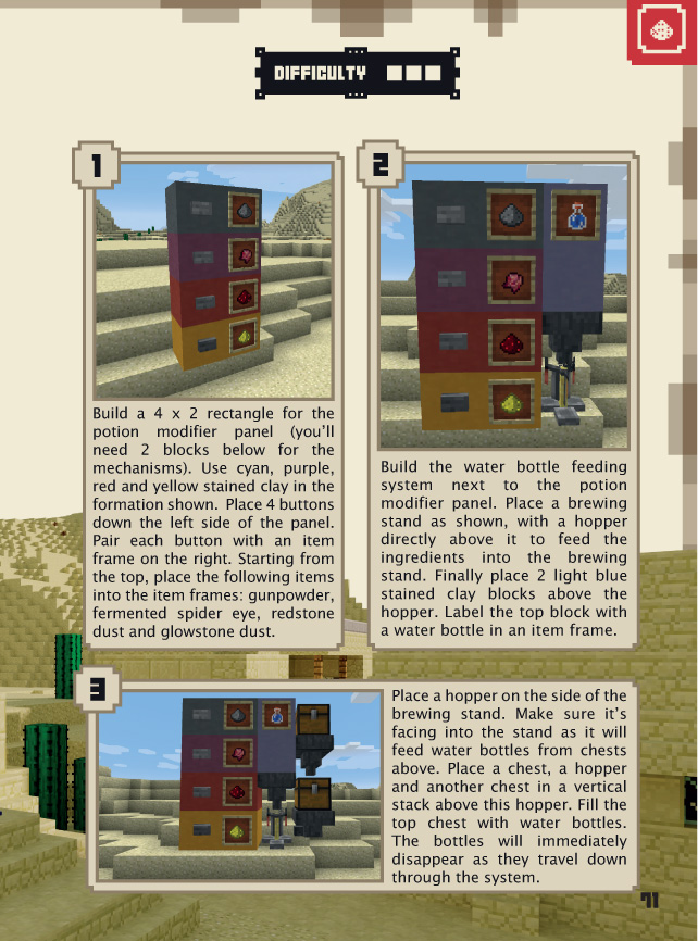 Minecraft Handbooks A Preview Of The Updated Guides