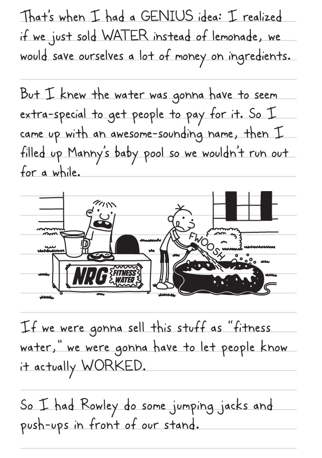 Diary Of A Wimpy Kid Old School Pages