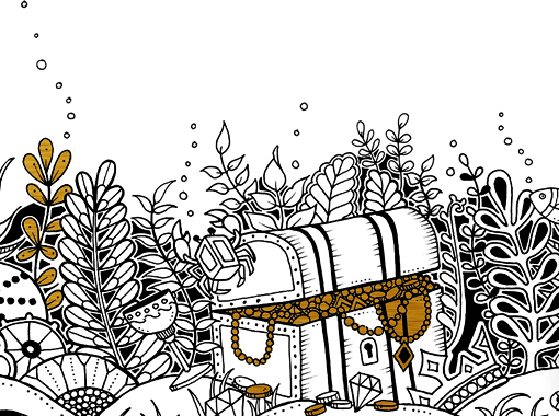 The Jungle Book Colouring Lost Ocean Johanna Basford