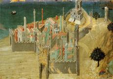 City by the Sea - Ambrogio Lorenzetti