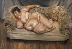 Lucian Freud - Benefits Advisor Sleeping