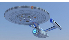 Minecraft Starship Enterprise