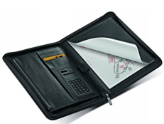 Filofax Microfibre A4 Zipped Folio