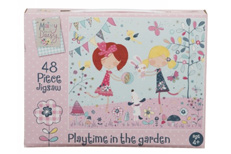 Playtime in the Garden Jigsaw Puzzle