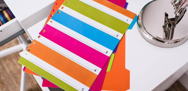 Carnival Back to School Stationery