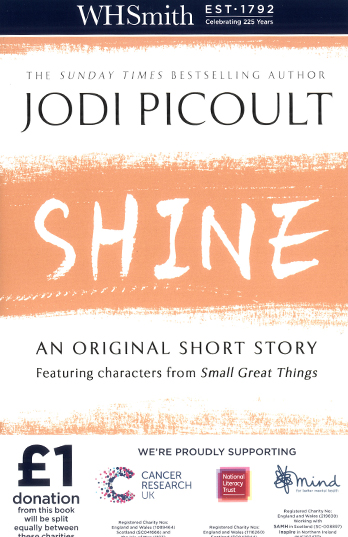 Whsmith 225th anniversary charity books exclusive short stories by shine jodi picoult solutioingenieria Images