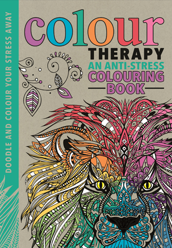 Colour Therapy An Anti Stress Colouring Book Free Pattern