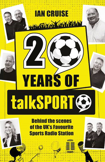 Alan Brazil signing Twenty Years of talkSPORT – Westfield Stratford EXPIRED