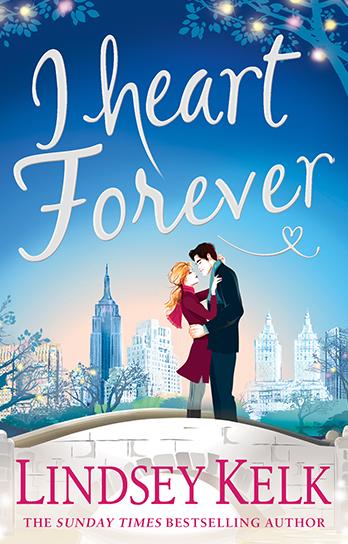 Lindsey Kelk signing I Heart Forever