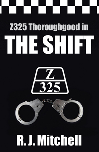 R. J. Mitchell signing The Shift Z325 Thoroughgood