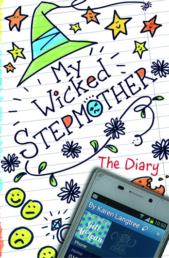 Karen Langtree signing My Wicked Stepmother and other titles