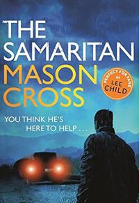 Mason Cross signing The Samaritan
