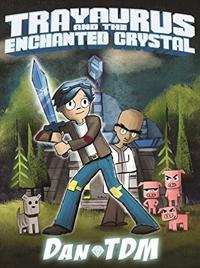 Dan TDM signing Trayaurus and the Enchanted Crystal