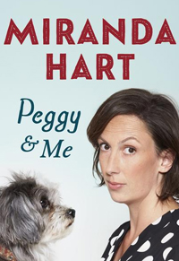 Miranda Hart signing Peggy and Me