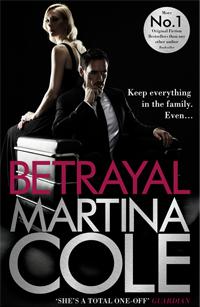 Martina Cole signing Betrayal