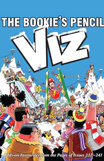Simon Thorp and Graham Dury signing The Bookies Pencil: Viz Annual 2017