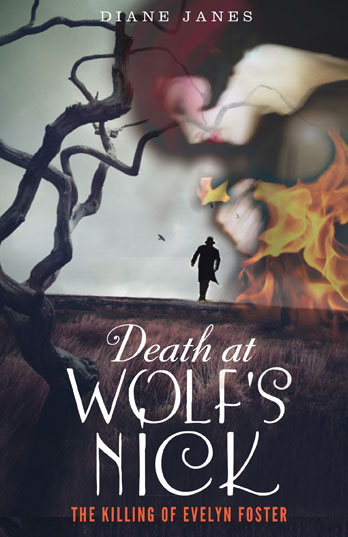Diane Janes signing Death at Wolf's Nick