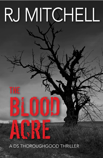 R. J. Mitchell signing The Blood Acre – Stirling