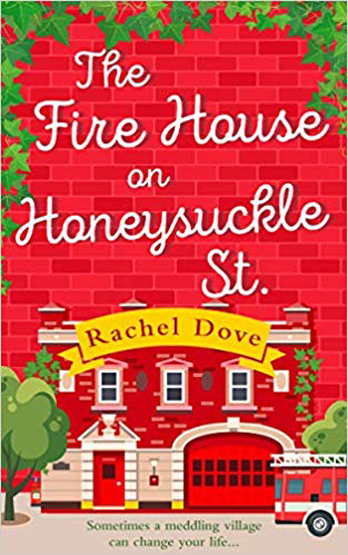 Rachel Dove signing The Fire House on Honeysuckle Street