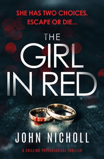 John Nicholl signing The Girl In Red – EXPIRED