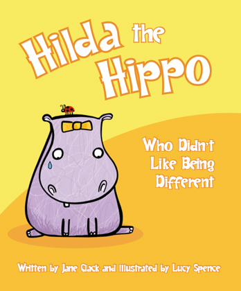 Jane Clack signing Hilda The Hippo