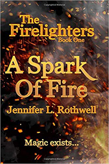 Jennifer L Rothwell signing A Spark of Fire – EXPIRED