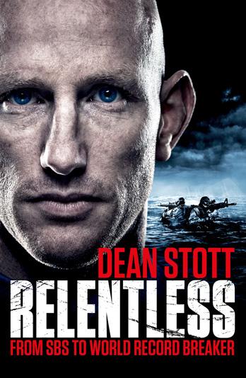 Dean Stott signing Relentless