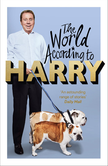 Harry Redknapp signing The World According To Harry