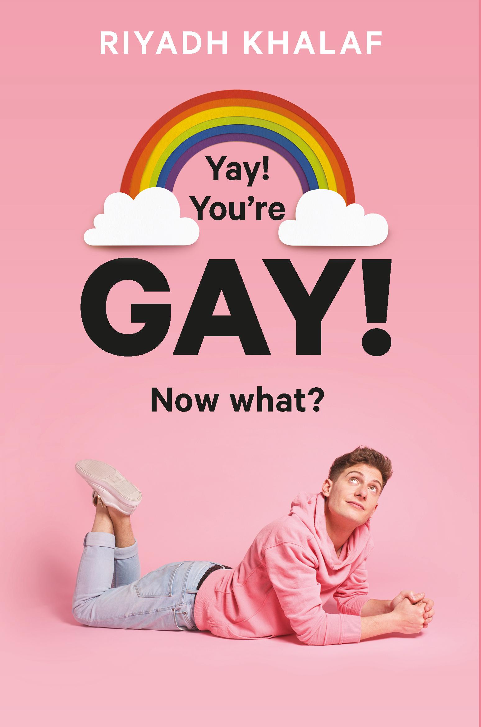 Riyadh Khalaf signing Yay,  You're Gay! Now What?