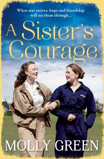 Come and meet Molly Green signing A Sister's Courage – Tunbridge Wells EXPIRED