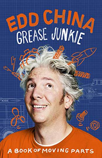 Edd China signing Grease Junkie – EDINBURGH