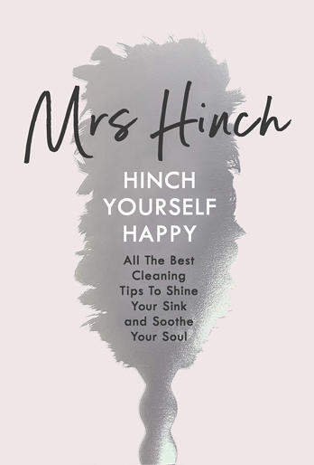 Mrs Hinch signing Hinch Yourself Happy