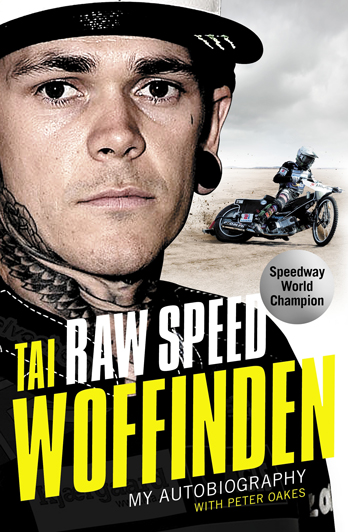 Tai Woffinden signing Raw Speed – Cardiff
