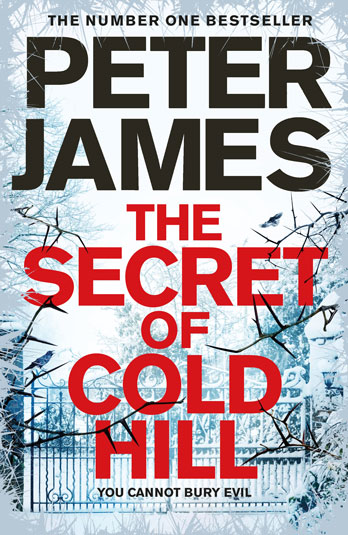 Peter James signing The Secret of Cold Hill EXPIRED