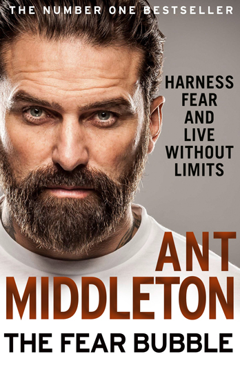 Ant Middleton signing The Fear Bubble – Cardiff