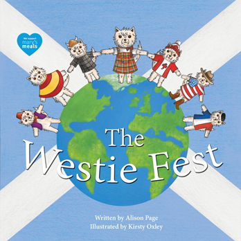 Alison Page signing The Westie Fest – EXPIRED