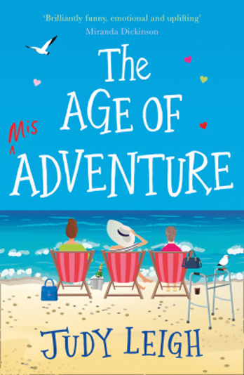 Judy Leigh signing The Age Of Misadventure