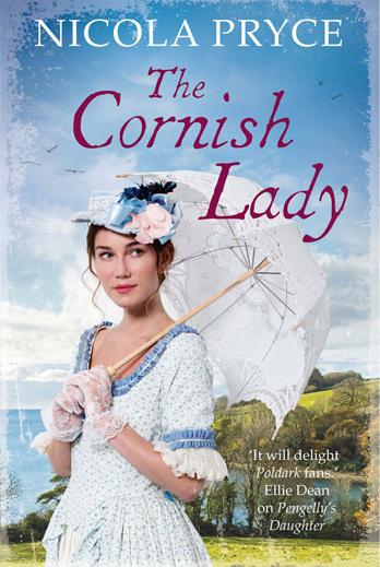 Nicola Pryce signing The Cornish Lady – EXPIRED