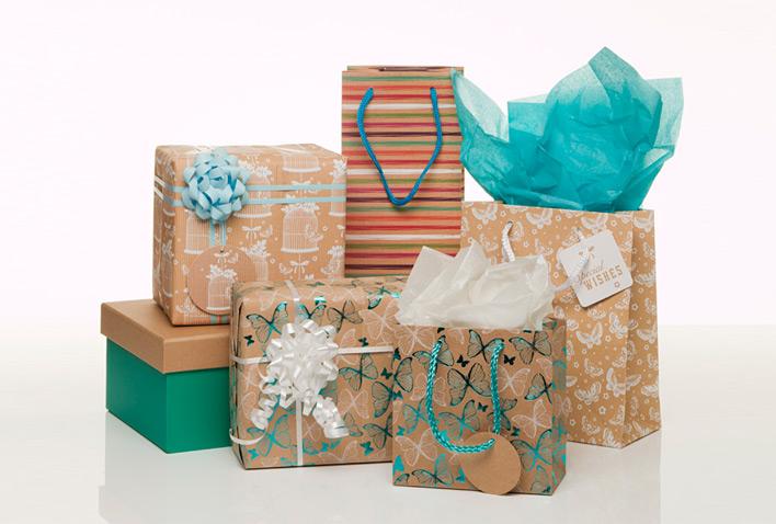 New! Kraft Paper Gift Wrap Inspiration