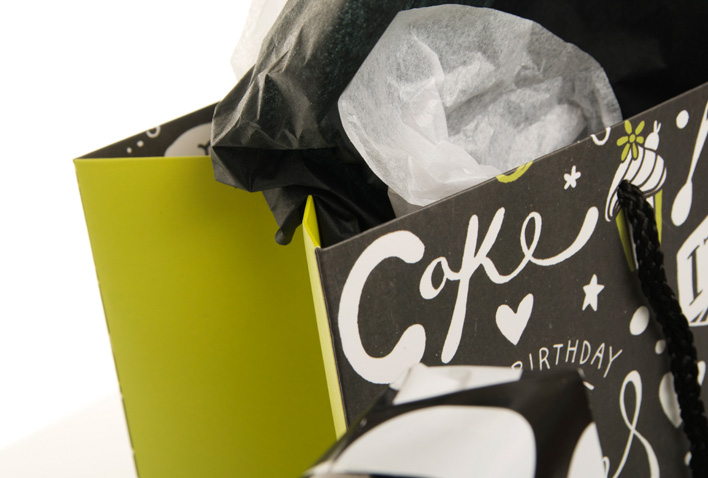 New! Monochrome Gift Wrap Inspiration