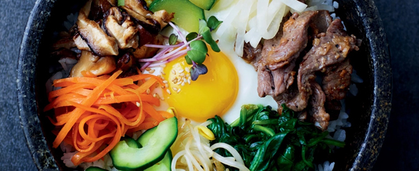 Our Korean Kitchen: Bibimbap - Mixed Rice with Vegetables and Beef Recipe