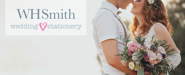 Introducing – WHSmith Personalised Wedding Stationery