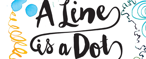 A Line is a Dot That Went for a Walk Free Pattern Download