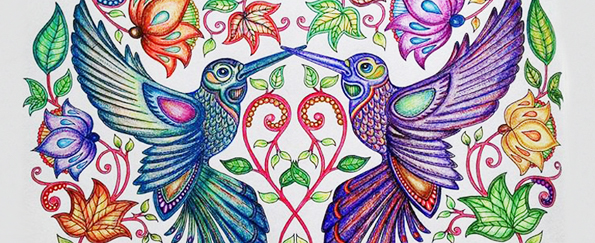 Adult Colouring Books: Your Artwork