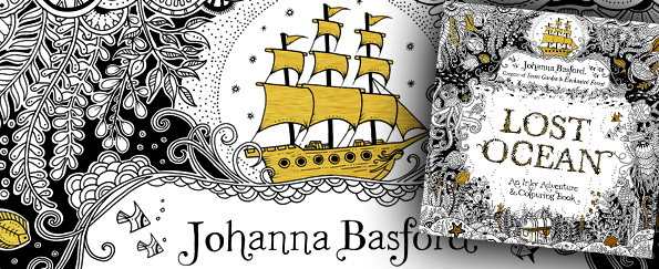 Johanna Basford Lost Ocean Free Fish Pattern Download