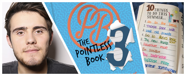 Pages from Alfie Deyes' Pointless Books Completed by You!