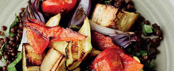 Anna Richardson Roasted Vegetable and Puy Lentil Salad Recipe